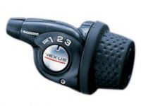 Шифтер SHIMANO SL-3S35E Nexus, 3 скорости, трос с оплеткой + комплект деталей для задней втулки