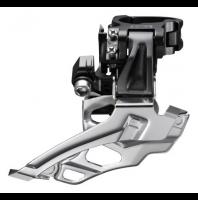 Переключатель передний SHIMANO FD-M611 ниж. тяга, с ад. 31,8мм, 66-69°, чёр., без упаковки