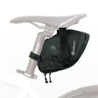 Сумка под седло  SKS EXPLORER STRAPS 1800, 18+4х8х13+1см, вес 186г, объём 1,8л, влагозащита, крепление липучкой