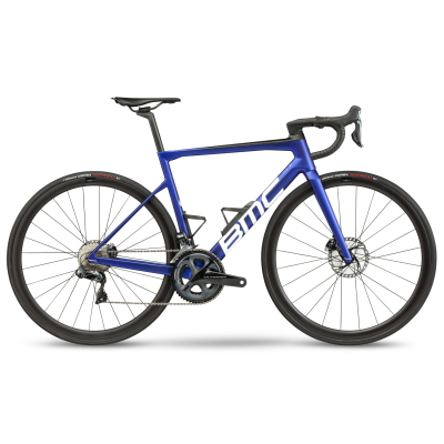 Велосипед BMC Teammachine SLR01 FOUR Blue/white/carbon Ultegra Di2 (2021)