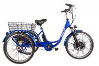 Трицикл  Crolan 500W Синий