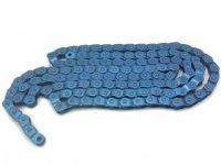 """Цепь YBN MK918, 1 ск., 1/2""""X1/8""""X116, халфлинковая, синяя, высокопрочные пины, высокая прочность на разрыв"""