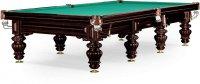 """Бильярдный стол для русского бильярда Weekend Billiard Company """"Turin"""" 12 ф (черный орех)"""