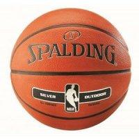 Баскетбольный мяч Spalding NBA Silver, размер 7