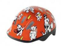 Шлем Kellys дет KH-202R разм. L красн с далматинцами
