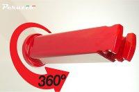 Устройство настенное  Peruzzo COOL BIKE RACK универс. для хранения велосипеда, красный