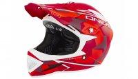Шлем велосипедный O-Neal Warp Fidlock Edgy Camo, красный