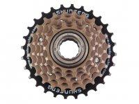 Трещотка  TBS 6 скоростей 14-16-18-21-24-28T недискретная коричневая