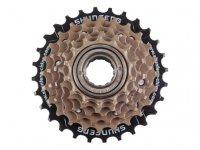 Трещотка  TBS 6 скоростей 14-16-18-21-24-28T дискретная коричневая