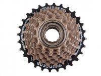 Трещотка  TBS 7 скоростей 14-16-18-20-22-24-28T дискретная коричневая