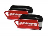 Нарукавники световозвращающие Olimp красные с логотипом, 2 шт., в торговой упаковке