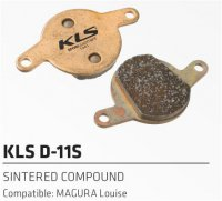 Колодки тормозные  Kellys к дисковому тормозу KLS D-11S FORMULA Louise, Magure Julie