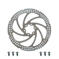 Диск тормозной  Zoom type-i 180мм, толщина 2 мм, вес 190г, с болтами, без упаковки