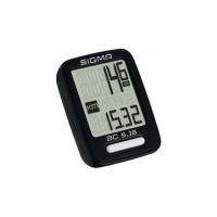 Велокомпьютер  Sigma bc 5.16 5 функций: скорость текущая; расстояние за день, общее; время в пути; часы