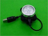 FanShine Велосипедный фонарь передний HJ-030