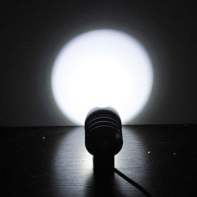 Велосипедный и налобный фонарь FanShine 1600-люмен, 3 режима. (голубой)