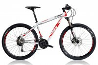 Велосипед Wilier MTB 407 XB Deore Mix White/Red (2017)